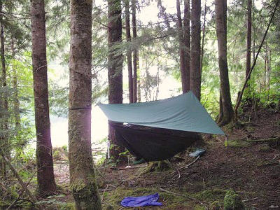 Hennessy Hammock on Vancouver Island