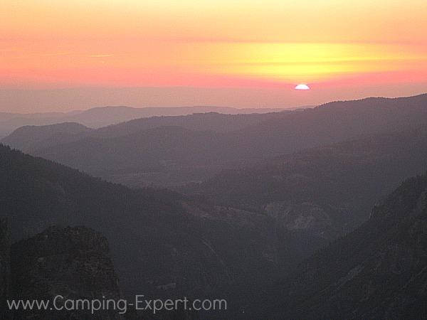 Sunset at Yosemite
