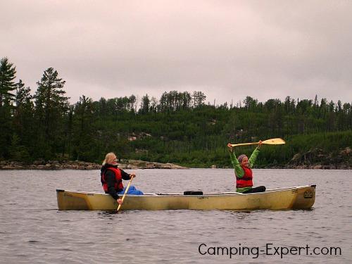 canoe-camping-gear